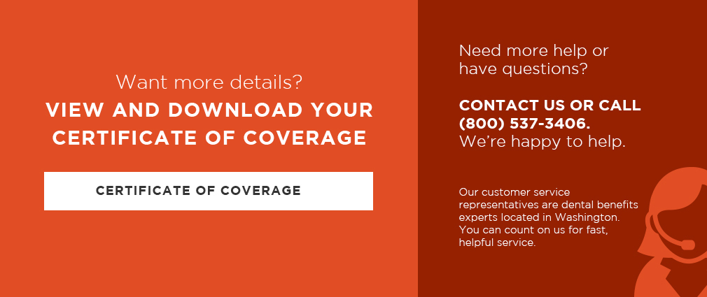 certificate of coverage